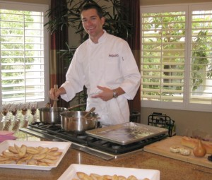 You may contact Chef Brian York for dinner parties at chefbrian@bigcitychefs.com